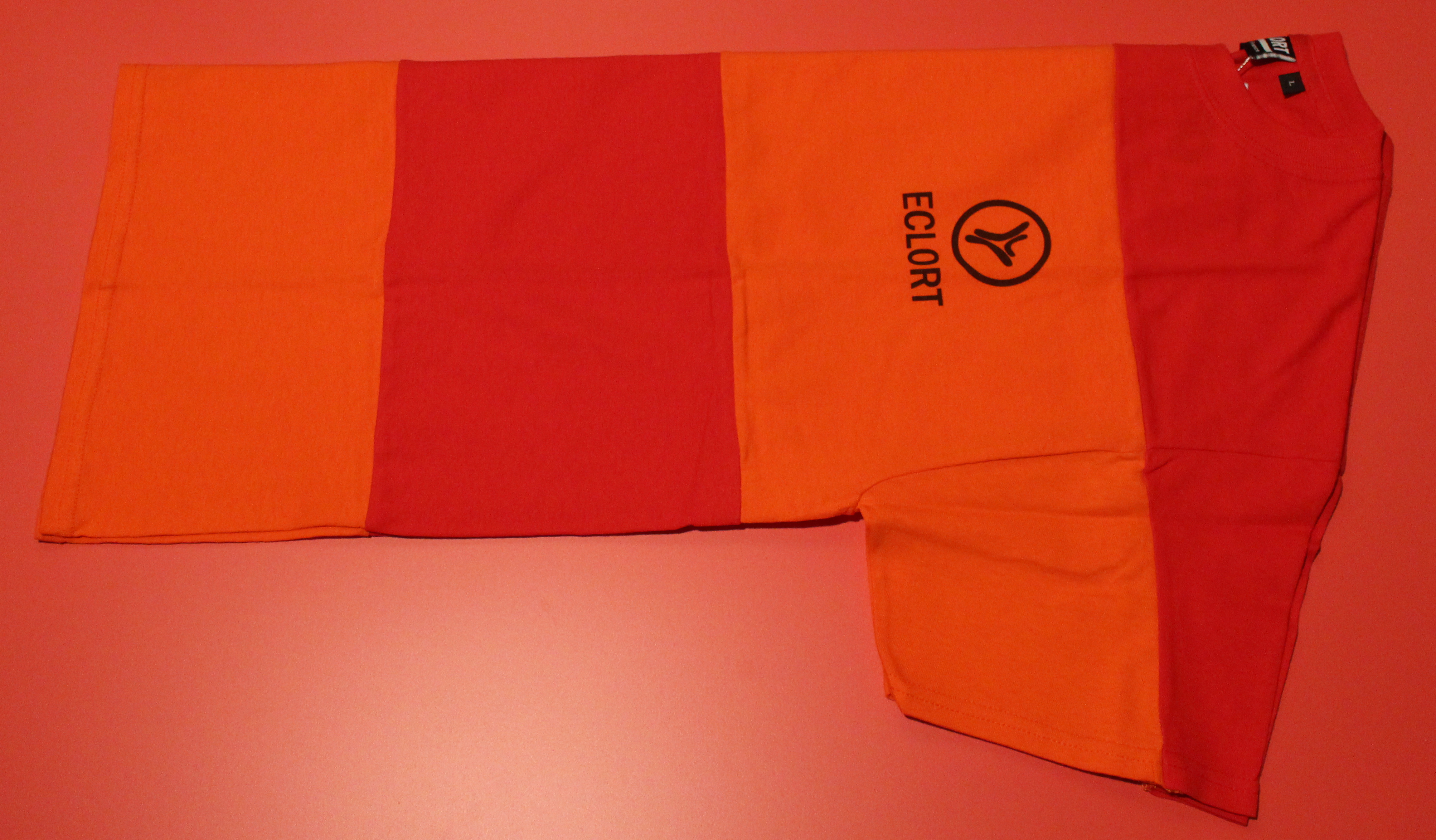 T-shirt Orange logobox