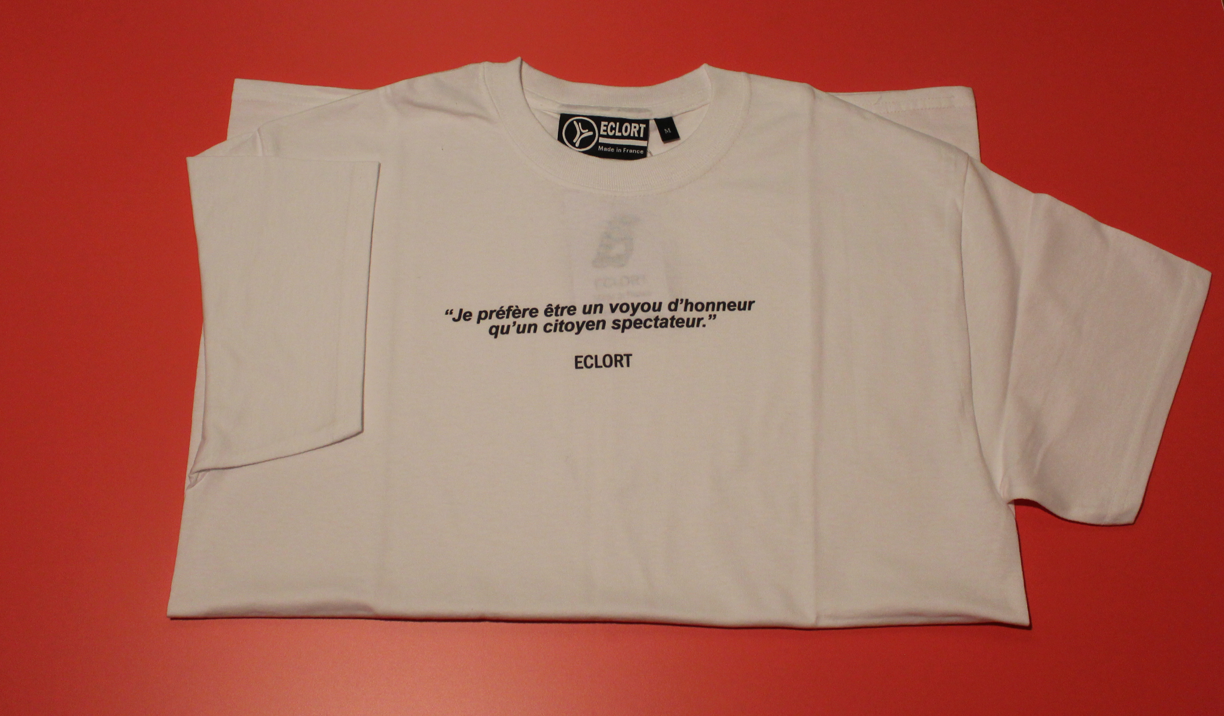 T-shirt Citation